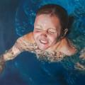 Marie, Acryl auf Leinwand, 100x100cm